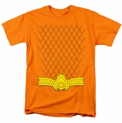 Aquaman costume t-shirt mens