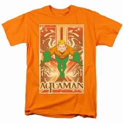 Aquaman t-shirt Rectangle Portrait mens