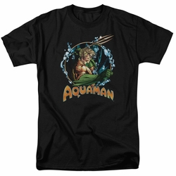 Aquaman t-shirt Ruler Of The Seas mens black