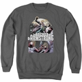 Archer & Armstrong adult crewneck sweatshirt Dropping In charcoal
