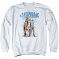 Archer & Armstrong adult crewneck sweatshirt Two Against All white