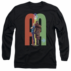Archer & Armstrong adult long-sleeved shirt Back To Bak black