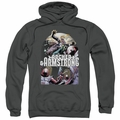 Archer & Armstrong pull-over hoodie Dropping In adult charcoal