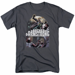 Archer & Armstrong t-shirt Dropping In mens charcoal