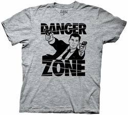 Archer Gun Battle Danger Zone mens t-shirt