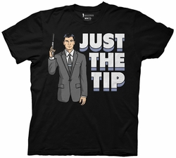 Archer Just the Tip adult mens t-shirt pre-order