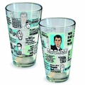 Archer Quotes Pint Glass