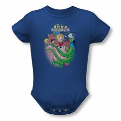 Archie Babies snapsuit Babies In Space royal