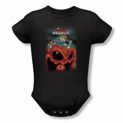 Archie Babies snapsuit Take That black