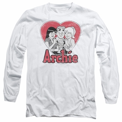 Archie Comics adult long-sleeved shirt Milkshake white