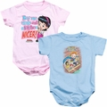 Archie Comics baby snapsuits