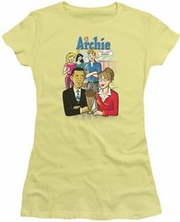 Archie Comics juniors sheer t-shirt Anything's Possible banana