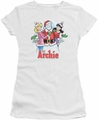 Archie Comics juniors sheer t-shirt Cover 223 white