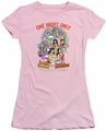 Archie Comics juniors sheer t-shirt One Night Only pink