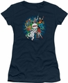Archie Comics juniors sheer t-shirt Psychadelic Archies navy