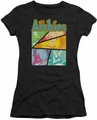 Archie Comics juniors sheer t-shirt The Archies Colored black