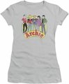 Archie Comics juniors sheer t-shirt The Gang silver