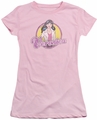 Archie Comics juniors sheer t-shirt Veronica Distressed pink