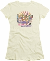 Archie Comics juniors sheer t-shirt With The Band cream