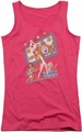Archie Comics juniors tank top Big Screen Rock hot pink