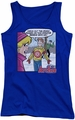 Archie Comics juniors tank top Crazy Sweater royal