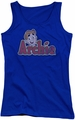 Archie Comics juniors tank top Distressed Archie Logo royal