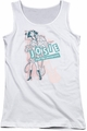 Archie Comics juniors tank top Glam Rockers white