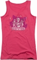 Archie Comics juniors tank top Kitty Band hot pink