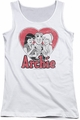 Archie Comics juniors tank top Milkshake white