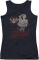 Archie Comics juniors tank top Perform black