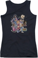 Archie Comics juniors tank top Pussycats Rock black