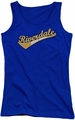 Archie Comics juniors tank top Riverdale High School royal