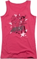 Archie Comics juniors tank top Star Rockers hot pink