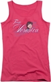 Archie Comics juniors tank top Team Veronica hot pink