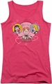 Archie Comics juniors tank top Two Is Better hot pink