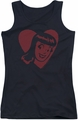 Archie Comics juniors tank top Veronica Hearts black