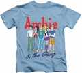 Archie Comics kids t-shirt And The Gang carolina blue