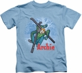 Archie Comics kids t-shirt Bunny Hill carolina blue
