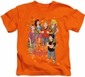 Archie Comics kids t-shirt Colorful orange