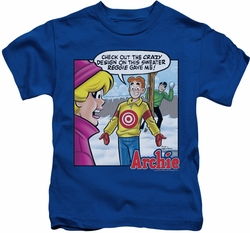 Archie Comics kids t-shirt Crazy Sweater royal