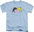 Archie Comics kids t-shirt Frenemies light blue