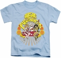 Archie Comics kids t-shirt Groovy Rock & Roll light blue