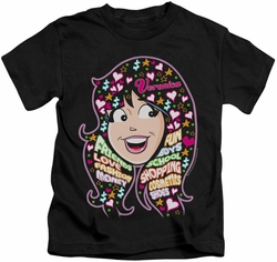 Archie Comics kids t-shirt Inside V'S Head black