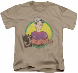 Archie Comics kids t-shirt Jughead Distressed sand