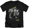 Archie Comics kids t-shirt Ladies Man black