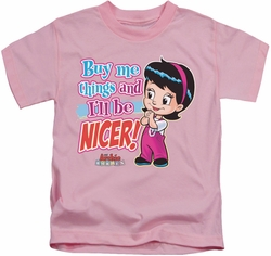 Archie Comics kids t-shirt Nicer pink