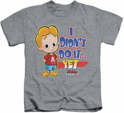 Archie Comics kids t-shirt Not Yet heather