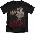 Archie Comics kids t-shirt Perform black