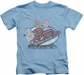 Archie Comics kids t-shirt Pop Tate's carolina blue
