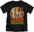 Archie Comics kids t-shirt Power Trio black